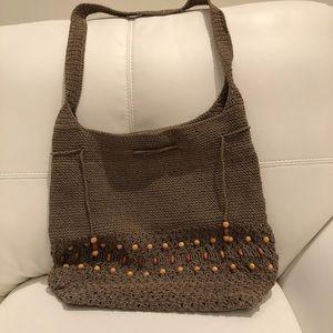Handbags - Womens tan tote bag.